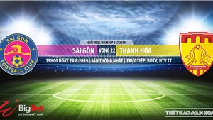 Soi kèo bóng đá: Sài Gòn vs Thanh Hoá (19h00 hôm nay), V League 2019. Trực tiếp Bóng đá TV
