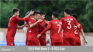Kết quả bóng đá SEA Games: U22 Việt Nam thắng giòn giã U22 Lào