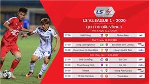V League: HAGL gục ngã ở Hàng Đẫy? Quảng Ninh đấu với Hà Nội (Trực tiếp VTV6, Bóng đá TV)