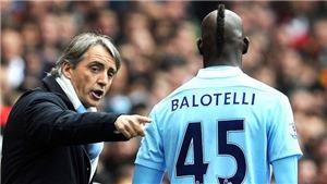 Roberto Mancini tuyên bố Balotelli ngang tầm Ronaldo