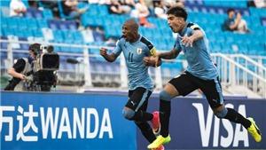 Uruguay hạ BĐN ở Tứ kết U20 World Cup sau loạt luân lưu đầu tiên theo luật mới