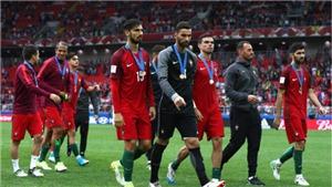 Không Ronaldo, Bồ Đào Nha vẫn ngược dòng hạ Mexico để giành hạng 3 Confed Cup
