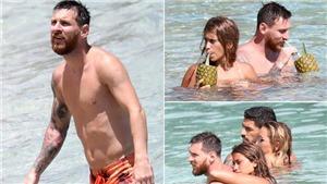 Vợ chồng Messi kết thúc tuần trăng mật xa xỉ