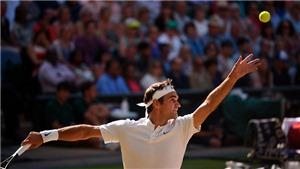 Federer lần thứ 11 vào Chung kết Wimbledon mà không thua set nào