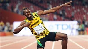 Usait Bolt và những khoảnh khắc bất tử trong suốt chặng đường vinh quang của sự nghiệp