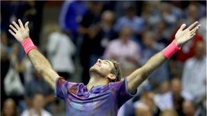 TENNIS ngày 7/9: Quật ngã Federer, Del Potro gặp Nadal tại Bán kết US Open