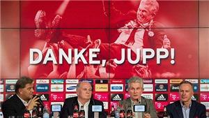 Jupp Heynckes chính thức trở lại dẫn dắt Bayern Munich
