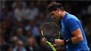 TENNIS ngày 02/11: Nadal lập kỷ lục khi kết thúc năm ở vị trí số 1