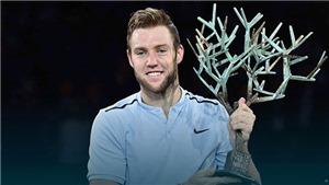 TENNIS 6/11: Jack Sock vô địch Paris, giành vé chót dự ATP Finals. Federer tiết lộ lý do chọn vợt Wilson