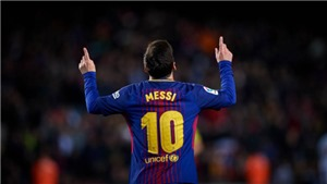 Video bàn thắng trận Barca 5-0 Celta Vigo: Messi lại tực sáng