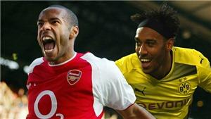 Aubameyang sẽ là Henry mới của Arsenal?