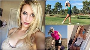 Nữ golf thủ bị dọa giết vì... quá gợi cảm khi thi đấu