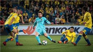 Video bàn thắng Las Palmas 1-1 Barcelona: Barca chỉ còn hơn Atletico 5 điểm