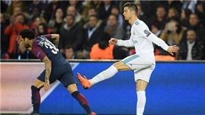 Ronaldo may mắn thoát thẻ đỏ trong trận thắng PSG