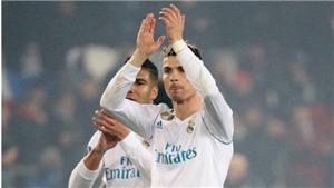 'Quý ông Champions League' Ronaldo lại biến Real thành kẻ chinh phục