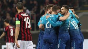ĐIỂM NHẤN AC Milan 0-2 Arsenal: Pháo thủ có thể vô địch Europa League, Milan chạm đất