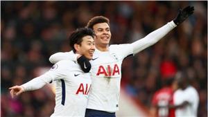 Video clip highlights bàn thắng Bournemouth 1-4 Tottenham: Spurs vượt Liverpool, lên thứ 3