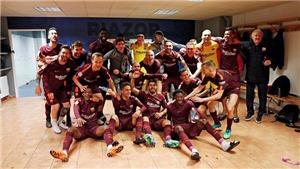 Deportivo 2-4 Barcelona: Messi lập hat-trick, Barca vô địch sớm trước 4 vòng đấu