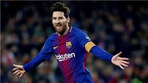 CẬP NHẬT sáng 21/5: Messi lần thứ 5 đoạt Chiếc giày Vàng châu Âu. Nadal trở lại số 1 thế giới