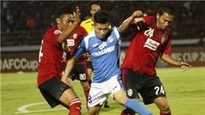Thi đấu thiếu người vì thẻ đỏ, Than Quảng Ninh thua đau Bali United