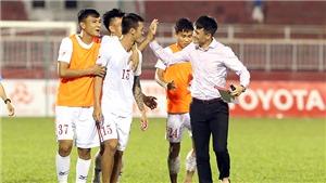Thắng dễ đội bóng Chủ tịch Công Vinh, Hà Nội  tạm chiếm ngôi đầu