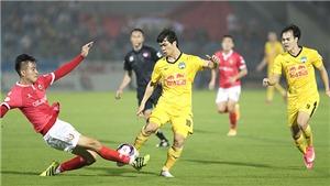 Bóng đá Việt Nam hôm nay: Thanh Hóa vs HAGL (17h00). Hà Nội vs Bình Định (19h15)