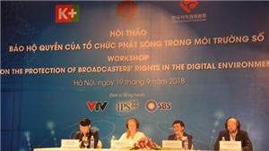 Tẩy chay các đơn vị vi phạm bản quyền truyền hình