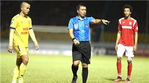 Bóng đá Việt Nam hôm nay: Trọng tài FIFA bắt trận SLNA vsNam Định. HLV Park triệu tập 33 cầu thủ U22 Việt Nam