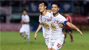 HAGL thua đậm Sanna Khánh Hòa, FLC Thanh Hóa giữ vững ngôi đầu
