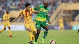 Nam Định giành vé đá play-off, Cần Thơ chính thức xuống hạng