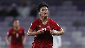 Bóng đá Việt Nam hôm nay: Quang Hải không có đối thủ ở giải bàn thắng đẹp. Trọng Hoàng chấn thương nặng