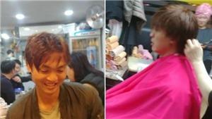 Tuấn Anh 'xuống tóc' tại Hàn Quốc, dành 6 tiếng điều trị mỗi ngày