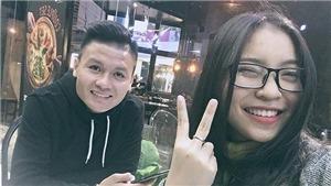 Bạn gái Quang Hải rơi nước mắt vì quá hạnh phúc