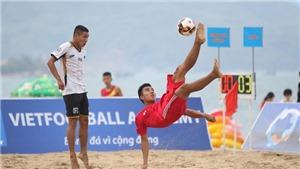 VFF xử nạn xin điểm ở giải bóng đá bãi biển 2019?