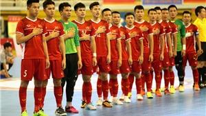 Trực tiếp Việt Nam vs Lebanon. Xem trực tiếp Play-off Futsal World Cup 2021