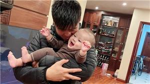 Bóng đá Việt Nam hôm nay: Duy Mạnh hạnh phúc đón Tết cùng gia đình