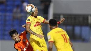 Bóng đá Việt Nam hôm nay:SLNA vs Nam Định.Quảng Nam vs Hải Phòng (17h00)