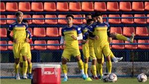 Tin bóng đá U23 châu Á: U23 Việt Nam cao hơn UAE và Triều Tiên, đá giao hữu với Bahrain