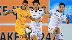 Bóng đá Việt Nam hôm nay: HAGL gặp nhiều khó khăn trước SLNA