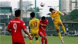 Bóng đá Việt Nam hôm nay: Cầu thủ HAGL chấn thương ở trận đấu tập của U22 Việt Nam