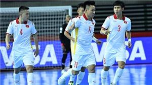 KẾT QUẢ Futsal Việt Nam 1-1 CH Séc, Futsal World Cup 2021 hôm nay