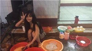 Báo Hàn phát cuồng trước hình ảnh cô gái Việt ngồi rửa bát