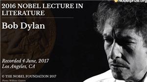 Bob Dylan đạo văn để viết diễn từ nhận giải Nobel văn học