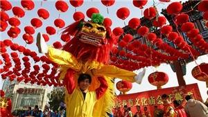 Không khí hân hoan đón năm mới Mậu Tuất tại các nước Châu Á