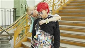 Đến dép lê quân đội mà G-Dragon cũng biến thành mốt được!