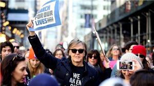 Xuống phố phản đối bạo lực súng đạn, Paul McCartney gọi tên John Lennon