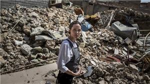 Angelina Jolie lao vào tử địa Mosul khi IS rời đi chưa được bao lâu
