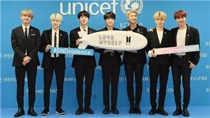 BTS là một trong hai thành tựu lớn nhất Hàn Quốc 60 năm qua, gây được quỹ khổng lồ cho UNICEF