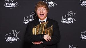 Được fan yêu, Ed Sheeran là nghệ sĩ nam toàn cầu tại Giải thưởng Âm nhạc NRJ