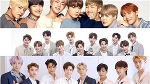 Bị tẩy chay, BTS vẫn vượt EXO, đứng đầu về giá trị thương hiệu tháng này